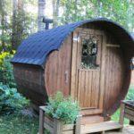 Finnpeak Zero T-sauna 2 m, pääkuva
